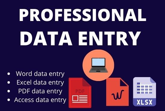 Create & Complete Data Entry Web Scraping within very Short time