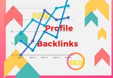 100 High Authority SEO Profile Backlinks white hat manual link building service for google top ranki