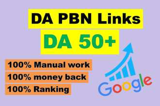 I will manully create 100 high pa da parmanent homepage pbn backlinks