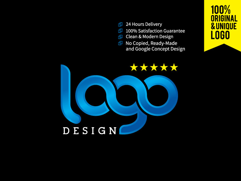 I will Do Minimalist and Creative Logo Design