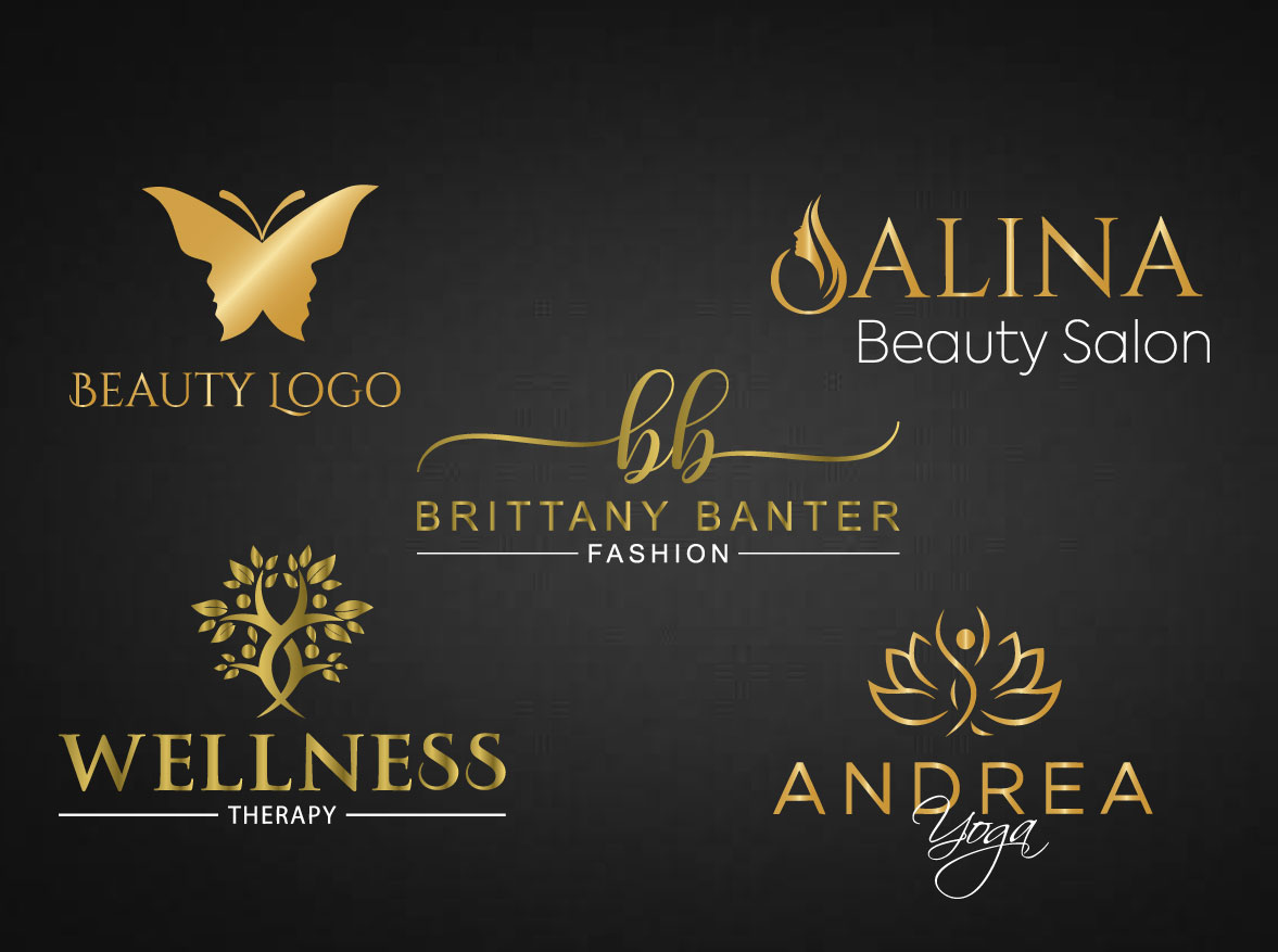 I will make Luxury Beauty logo for Your Brand