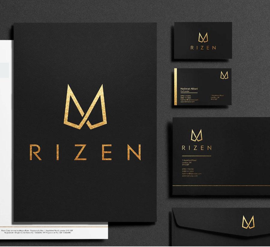 I Will Modern Minimalist Logo Design