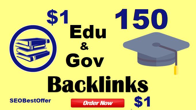 We Create 150 Edu and Gov Redirect Backlinks