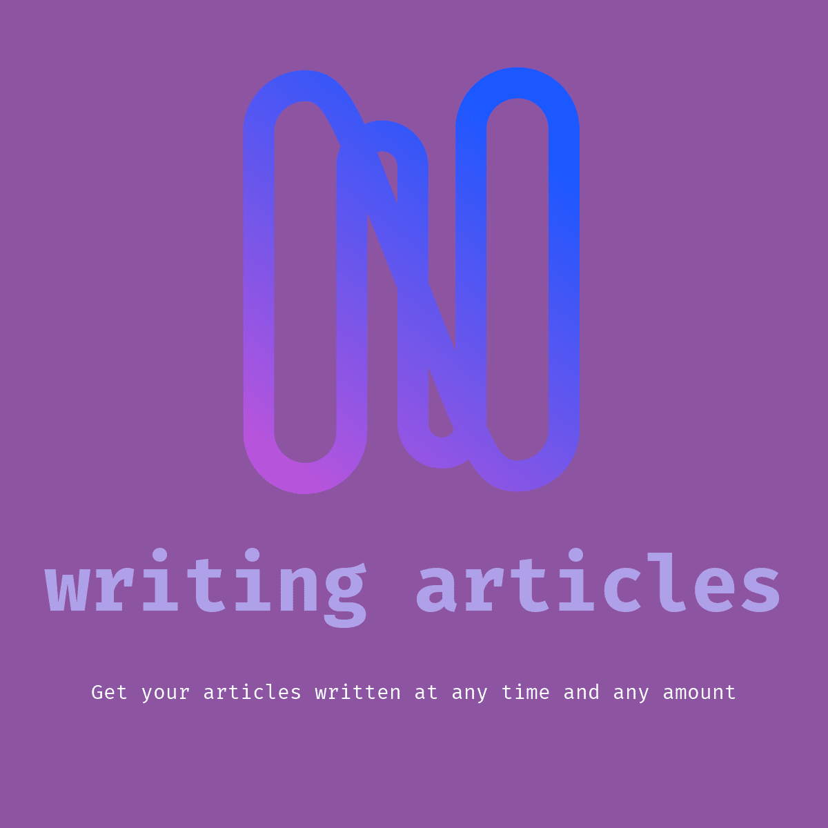 I will write any article in one day for you