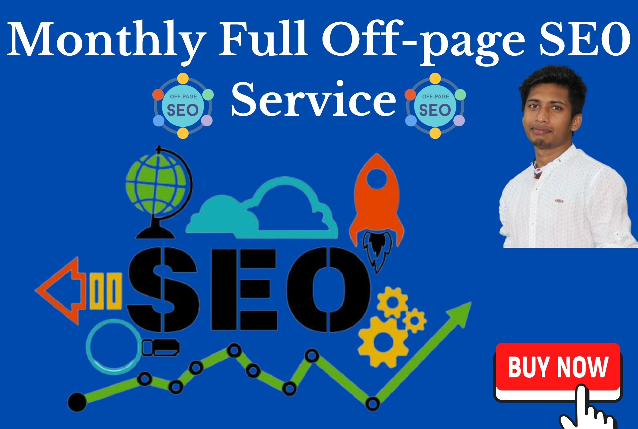 Monthly full off-page seo service with 1200 tier1 & tier2 backlink for your website