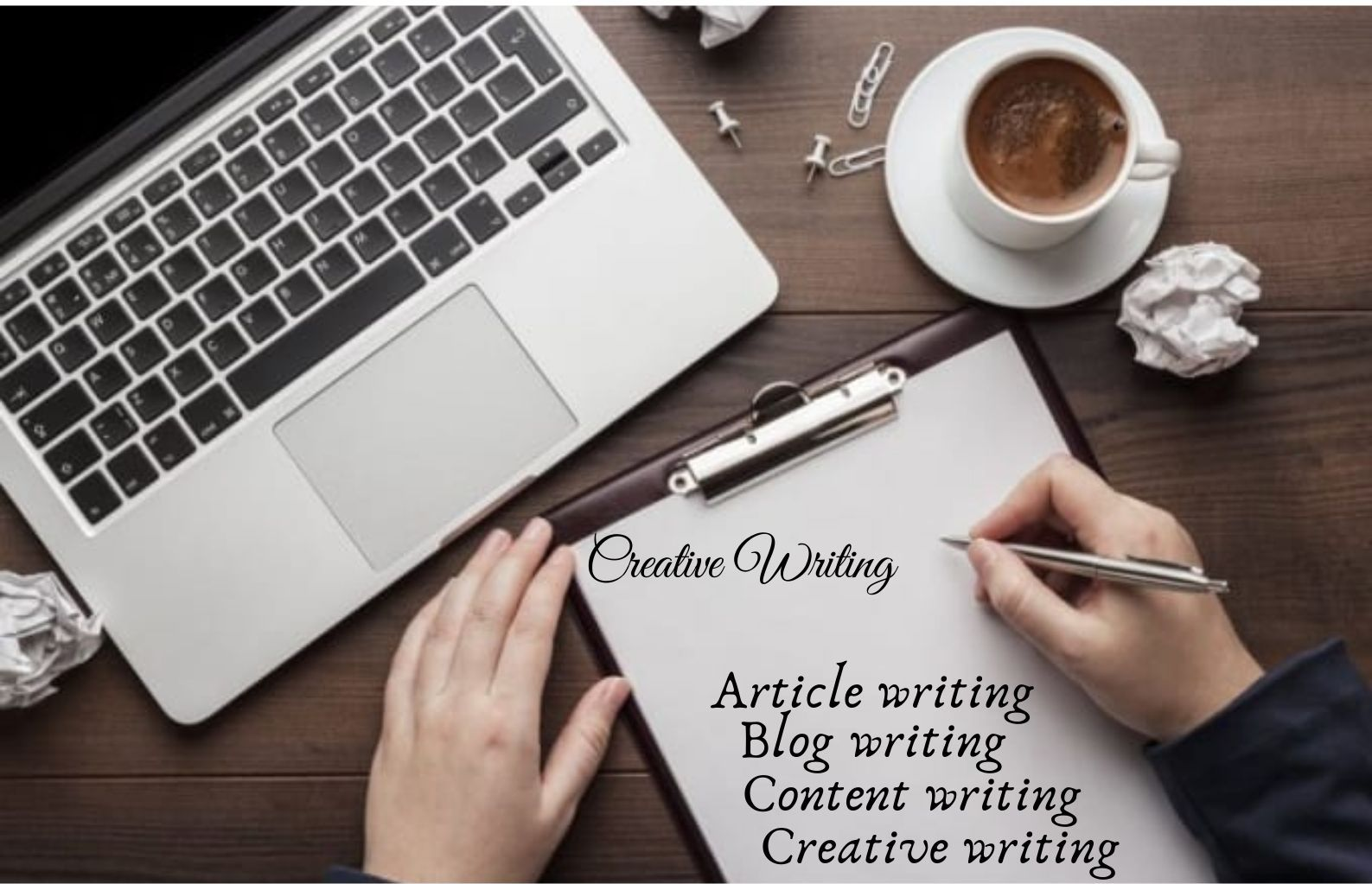 I will write creative content on any topic