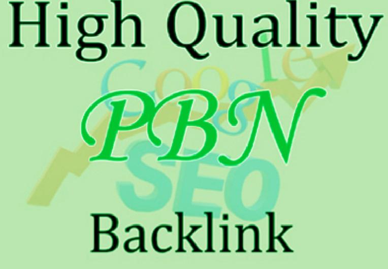 Build 13 Da 20 to 50+ PBN Backlinks High Quality Permanent Backlinks