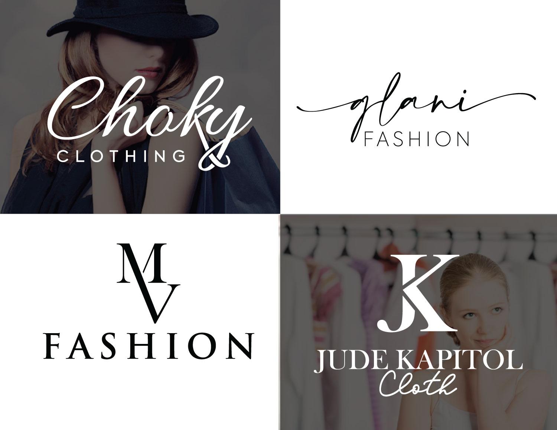 Do Luxury Fashion Clothing Brand Logo Design