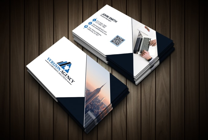 I will create awesome business card for you