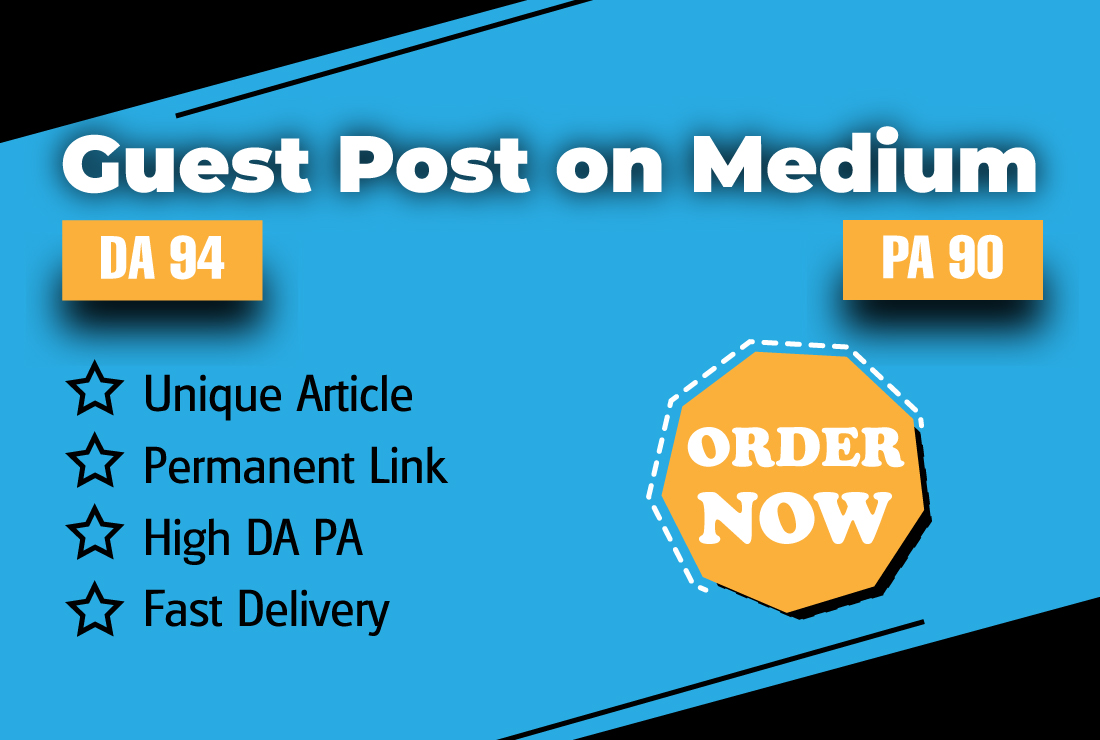 I Will Write and Publish One SEO Optimized Article on Medium DA-94 with Permanent Backlinks