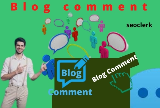 I will create High Quality 100 backlinks by using blog comments