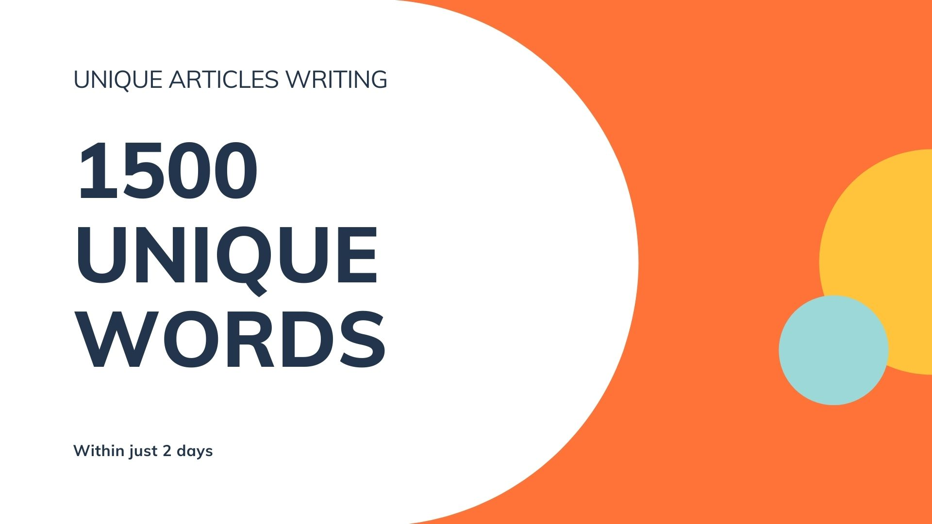 I will Write Top Class Unique 1500 Words SEO Friendly Articles and Content