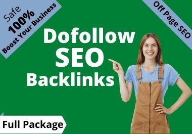High Quality Do Follow SEO Backlinks