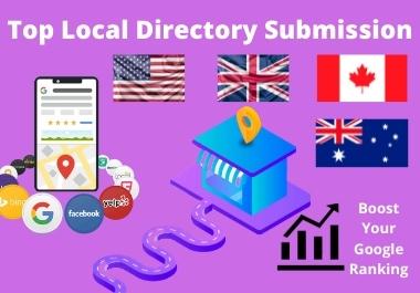 I will do top 50 HQ manual local SEO Citations
