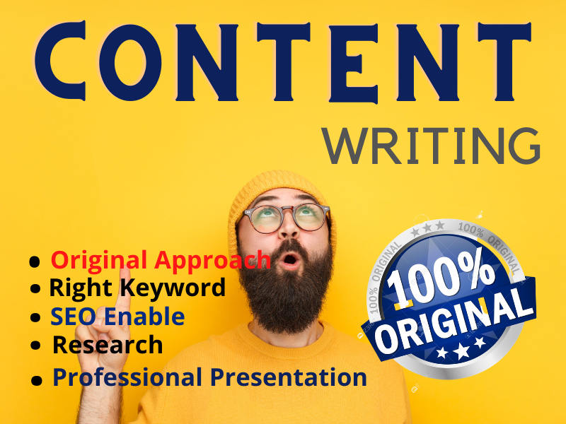 I will write 800 - 900 words of unique and SEO friendly Content
