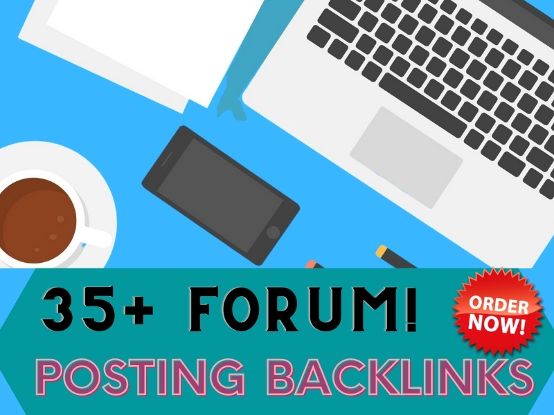 I will Create 35 high quality forum posting in SEO backlinks