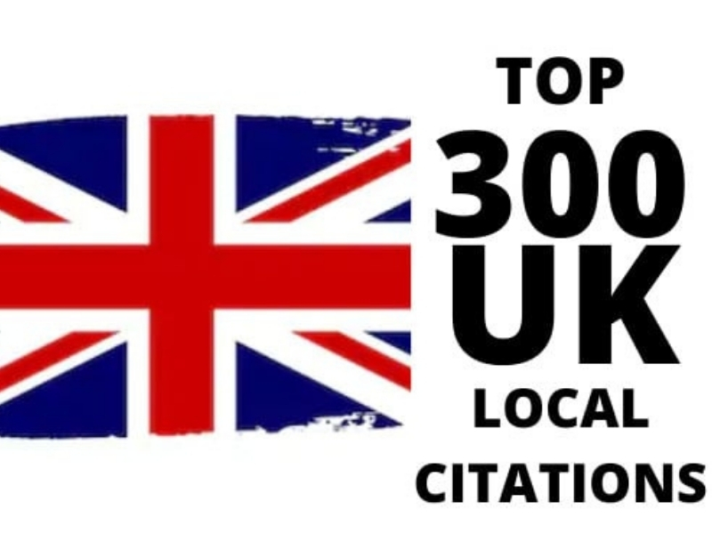 I will do top 300 UK USA CANADA AUSTRALIA local citations listing and directories for local seo