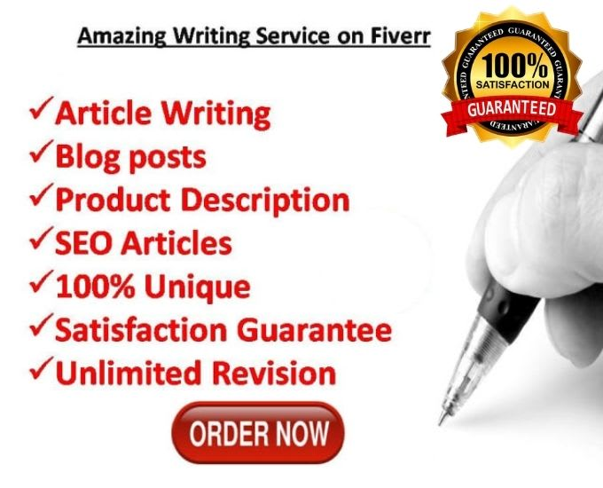 I will write an 1000 word SEO friendly blog or article
