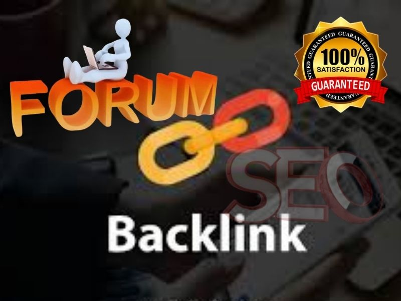 I will create 35 HQ manual forum posting backlinks