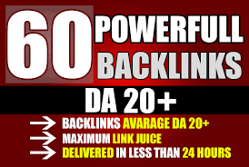 Create 60 PBN Backlinks High PA/DA TF/CF Homepage