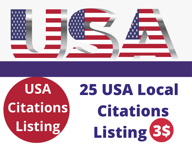 High Quality 25 USA local citations listing For Your local Business