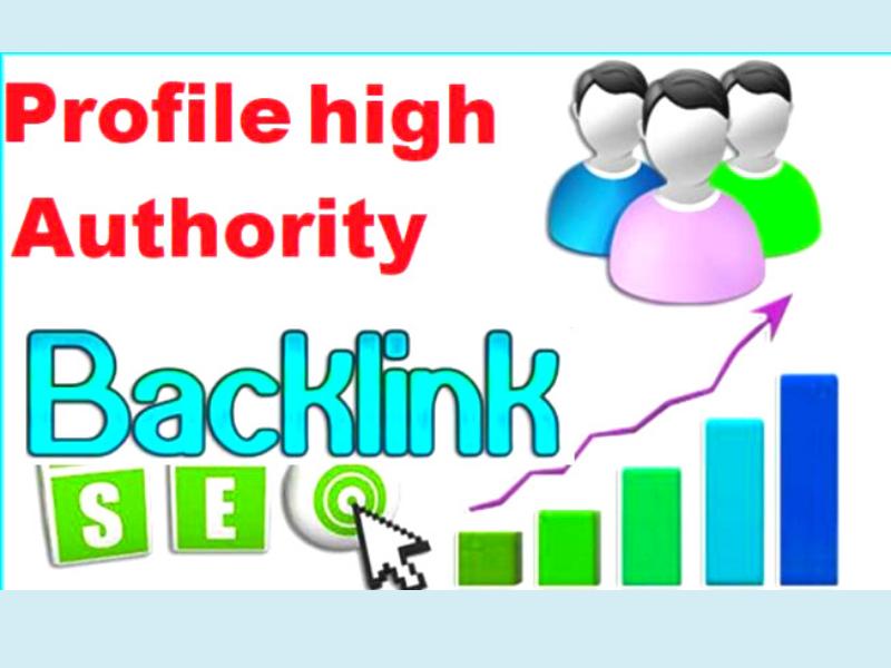 50 high quality profile backlinks service