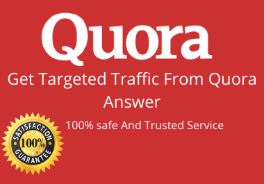 Boost your website in 5 Quora Answers with contextual link