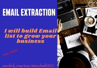 I will provide niche targeted active email list for your business