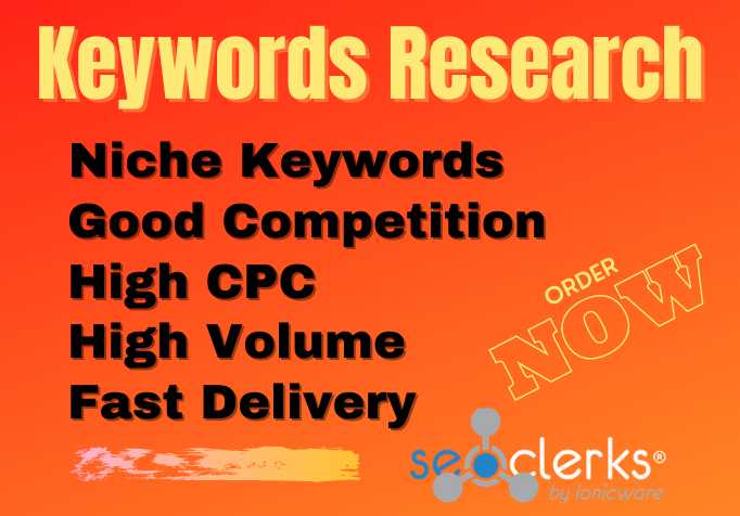 I will research niche topics ideas with high volume keywords