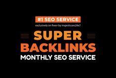 I will Create Monthly SEO Backlinks Package With Daily Reports
