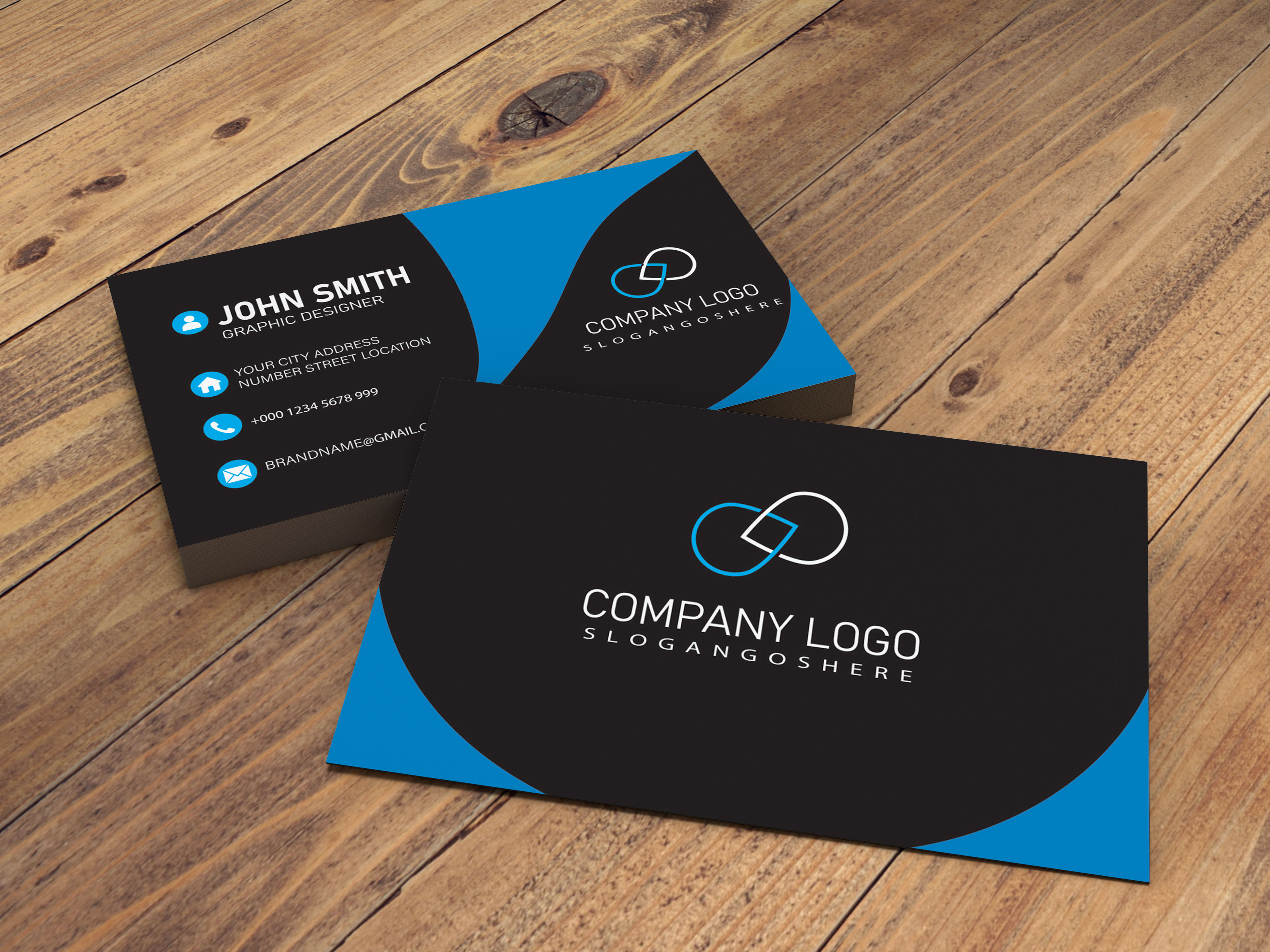 I will do create a professional business card