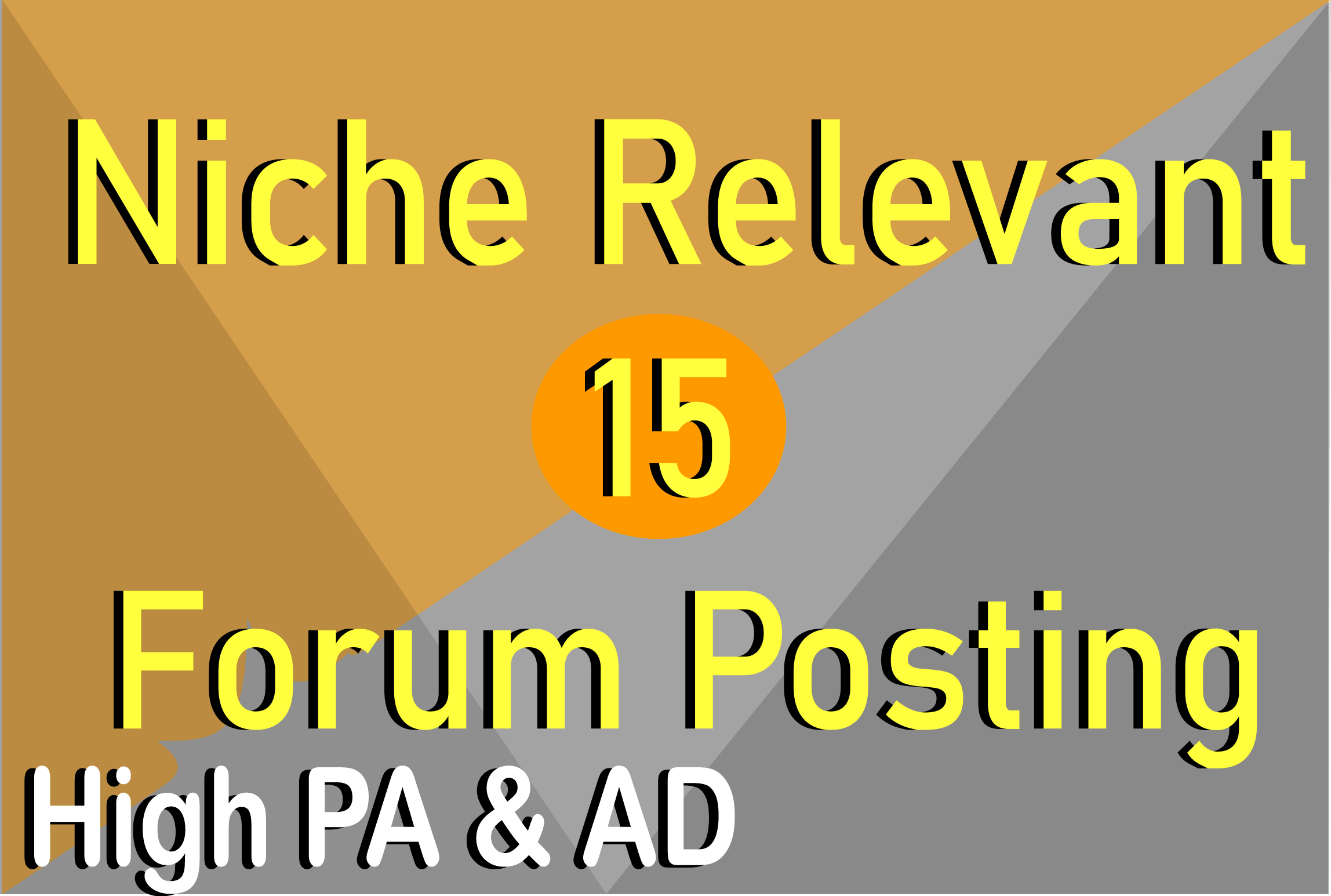 Offer 15 Niche Relevant Forum Posting to Reach Targeted Audience