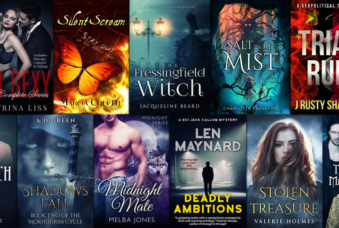 I will design you a awesome book cover with unlimited revisions