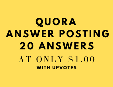 Promote your website by 20 Quora answers