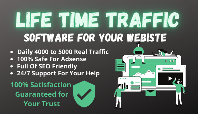 Life Time Traffic Software For Website And Blogger