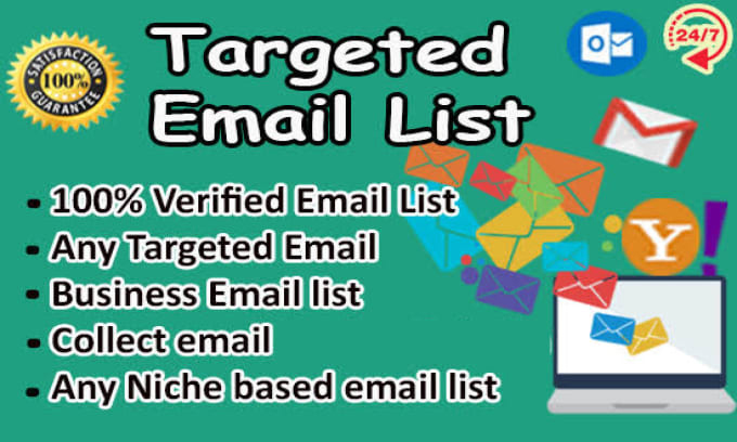 10k Valid Niche Targeted Bulk Email Collection