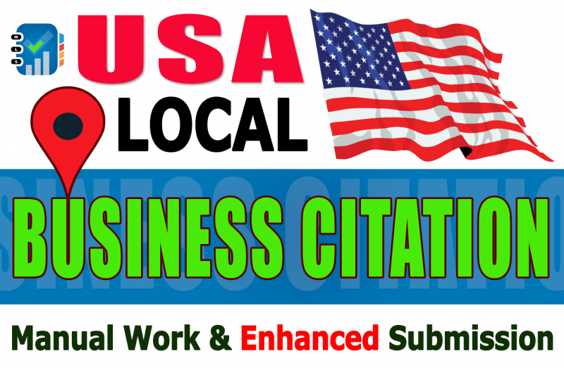 I will create Top 70 Live Local Citation/Local Listing on Business Directory Submission for the USA