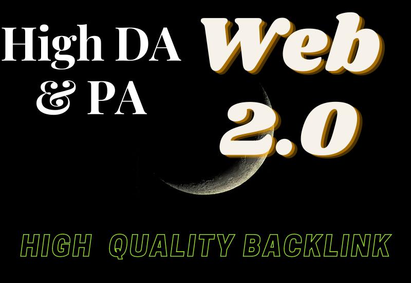 I will build 20 super contextual web 2.0 backlinks