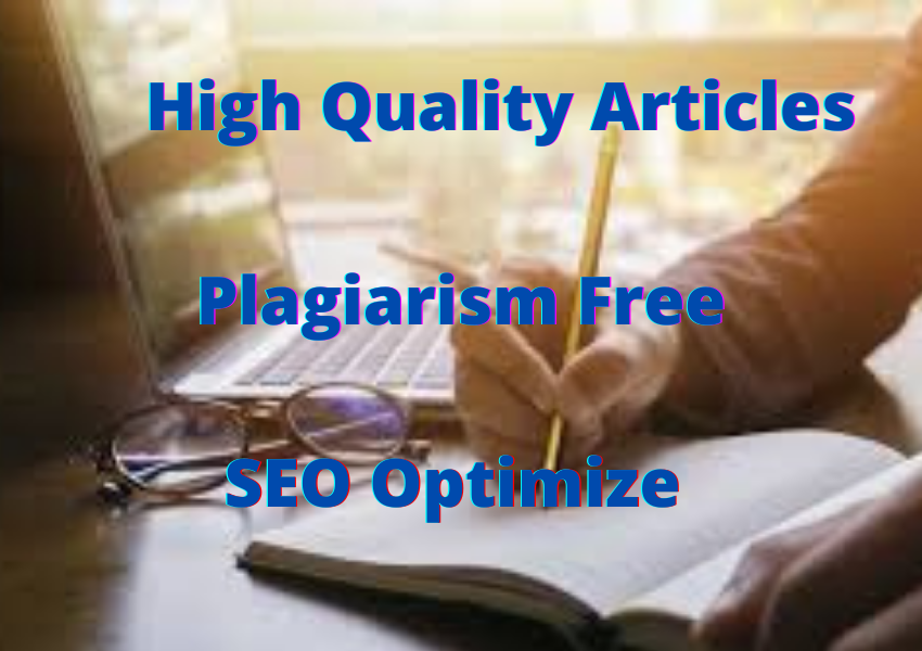 I will manually write 500-600 words unique articles/Contents for your Site or Blog Offline too.