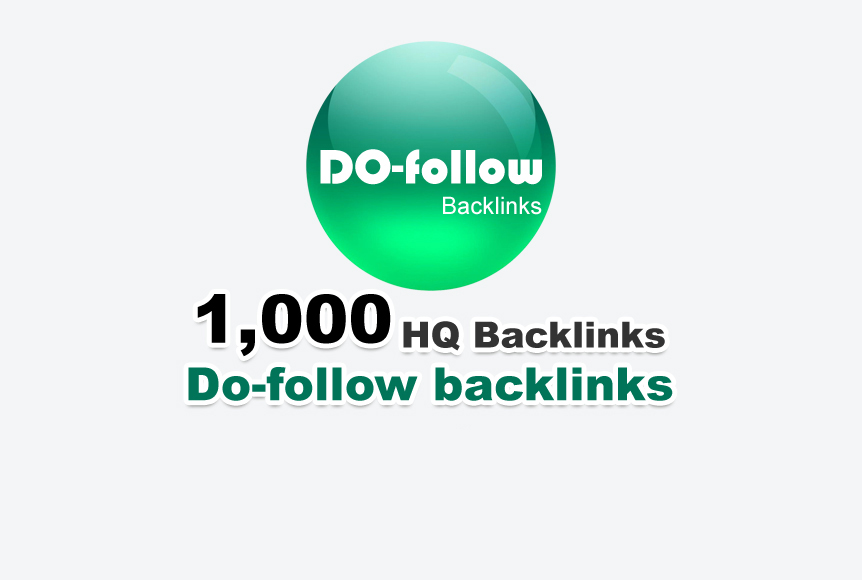 HQ Baclink - 1.000 do-follow backlinks