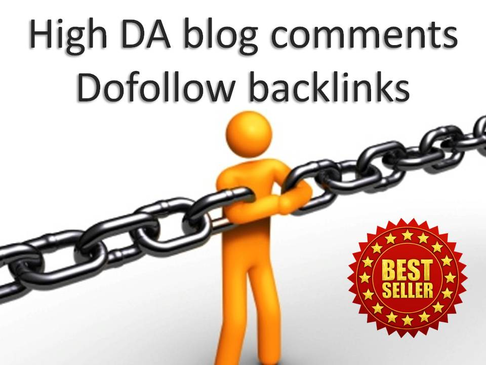 i will do 40 unique domains blog comments backlinks 1 day delivery