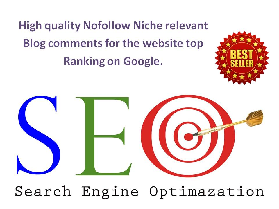 I will provide 26 niche relevant blog comments backlinks