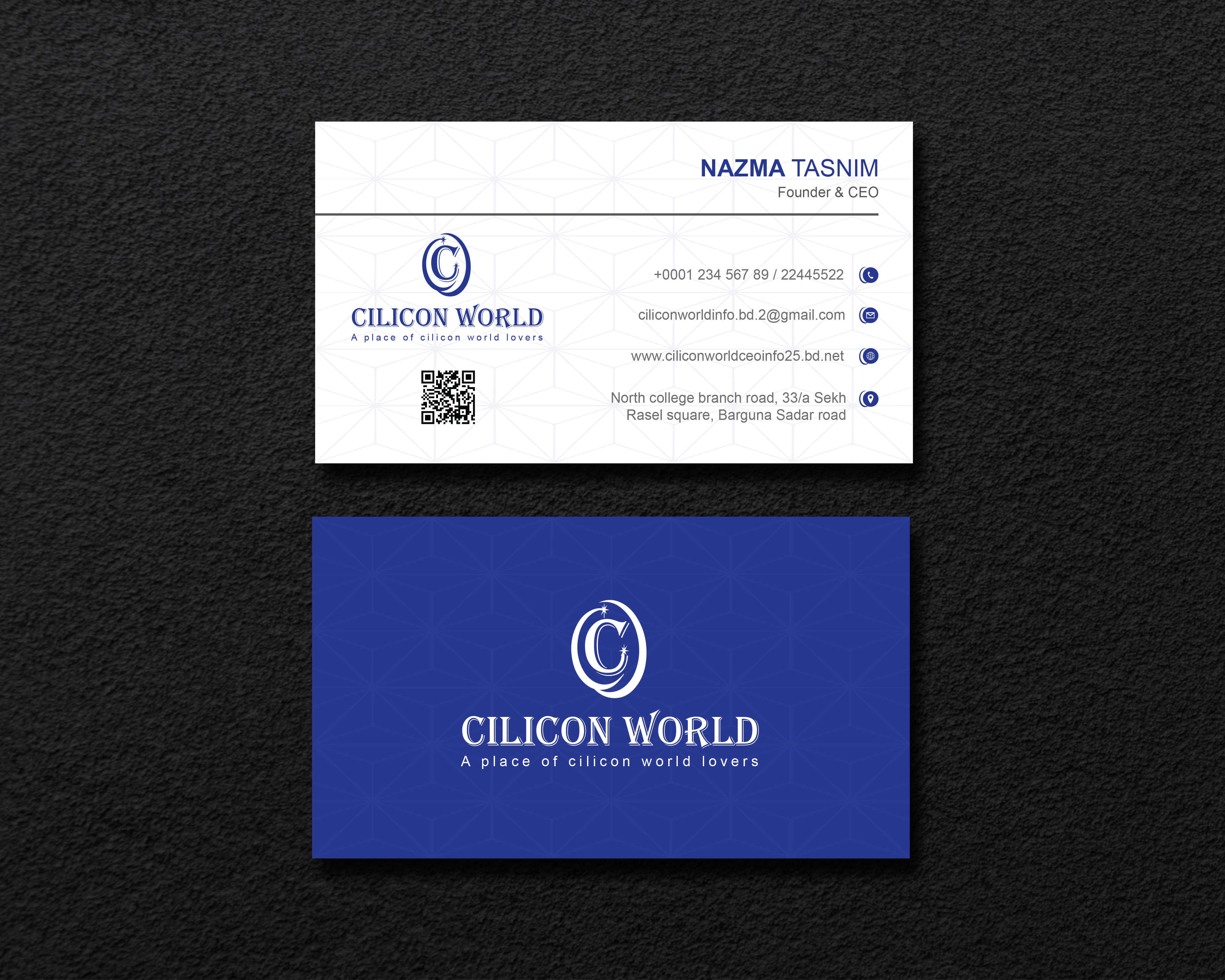 I will provide clean, professional Business card design service