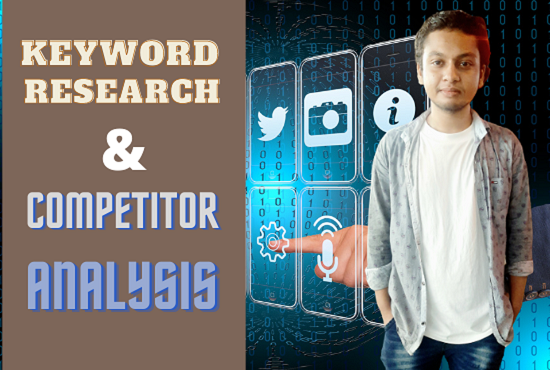 I will provide unique SEO keyword research and competitor analysis