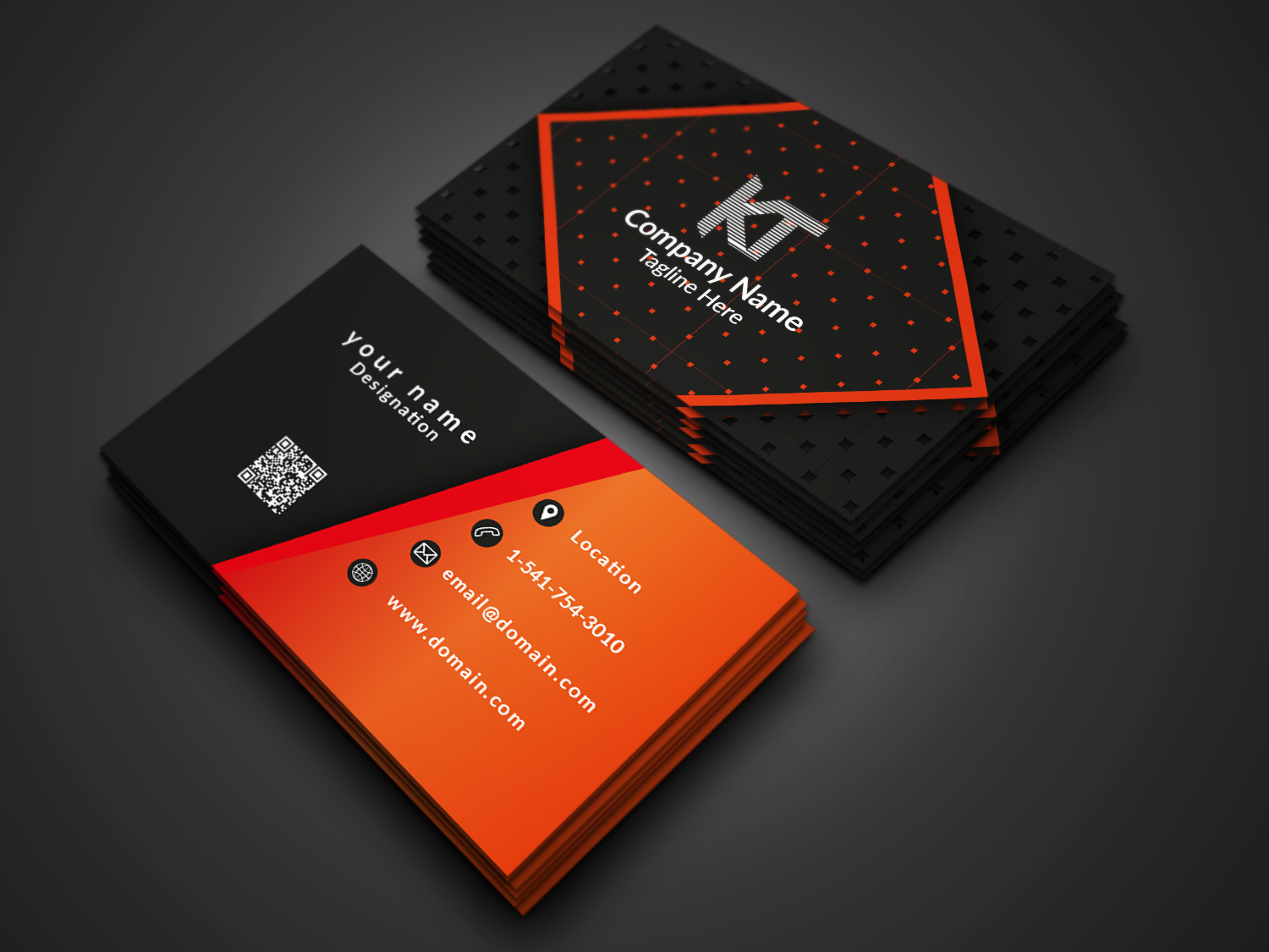 I will design business card in 3 hours that will be modern and trendy