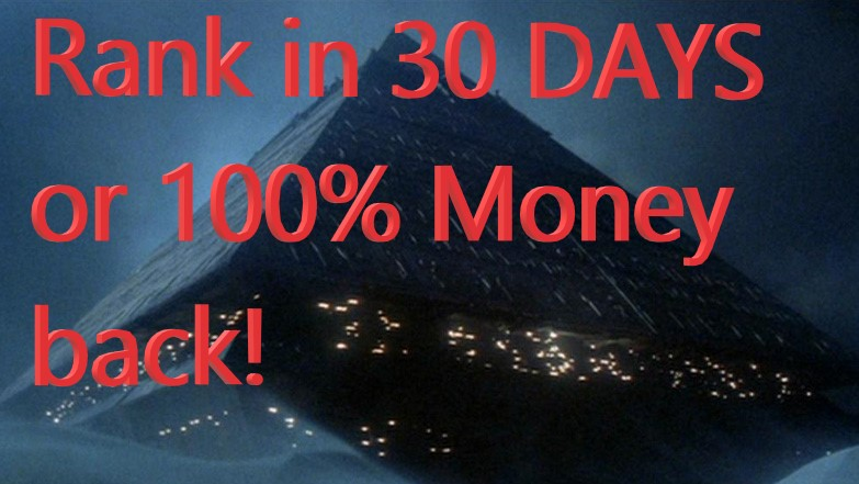 Rank Any Site in 30 Days on Google or 100 Money back