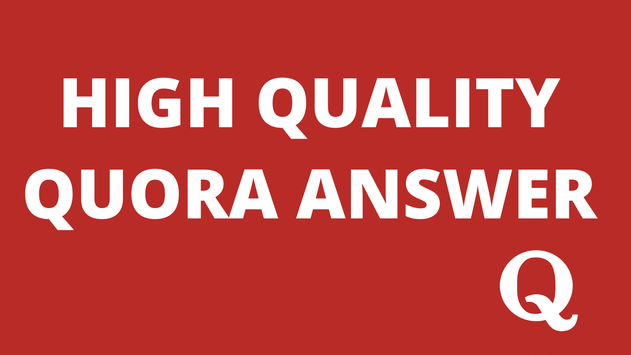 Promote your website 15 High Quality Quora Answers