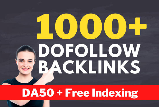 do 1000 seo link building with contextual dofollow backlinks service