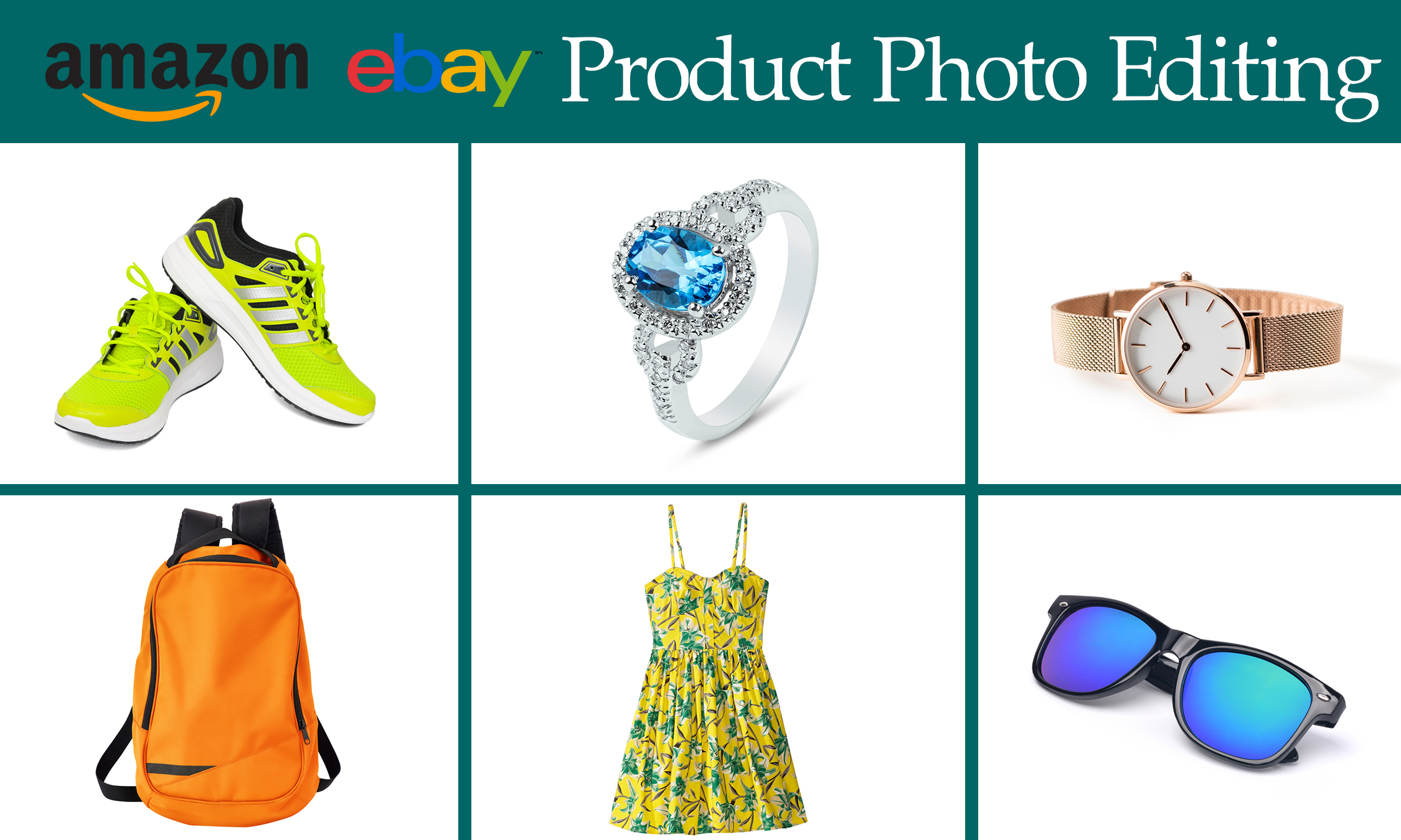 I will remove background and retouch your Images