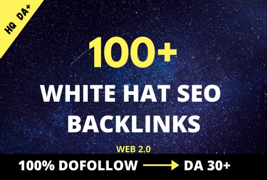 create high authority white hat SEO contextual backlinks